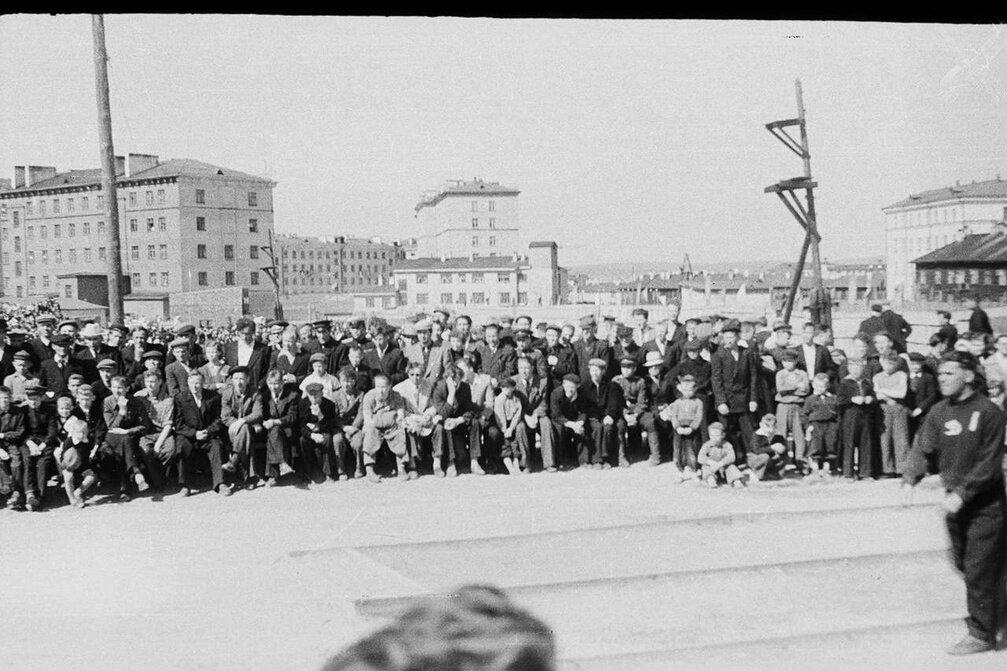1950-е. Динамо