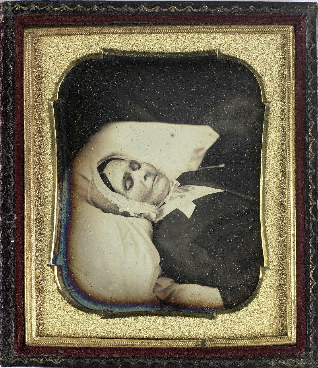 1840. Посмертный портрет женщины