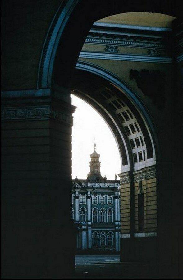 Ленинград. Арка Зимнего дворца
