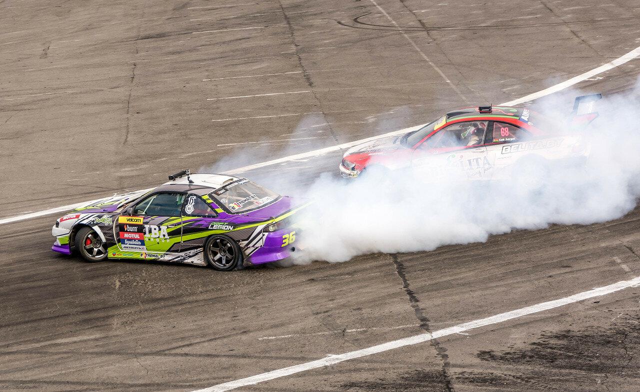 Сергей Сак (BMW) vs Андрей Пискарев (Nissan S14)