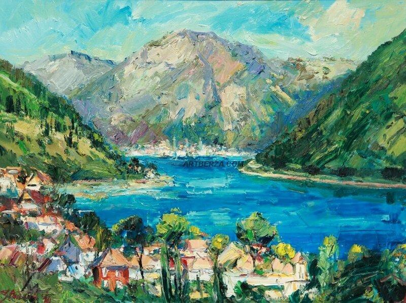 Черногория на картинах художников