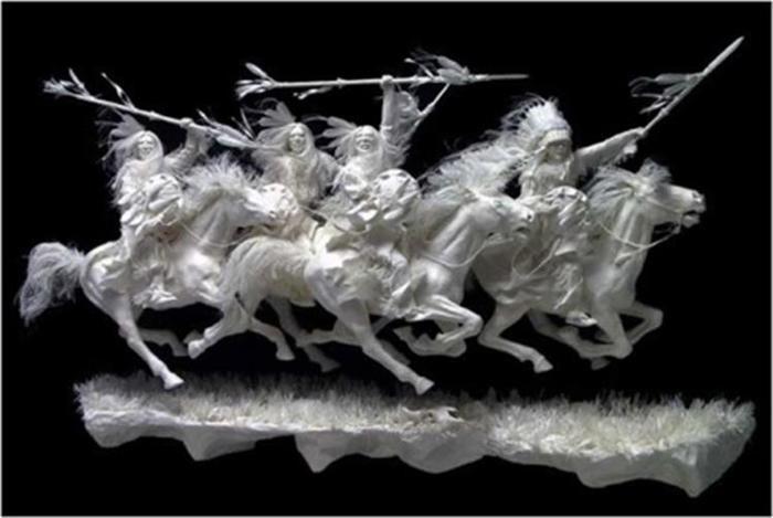 Удивительные скульптуры из бумажной массы 0 115b6d 3f2ed33a orig