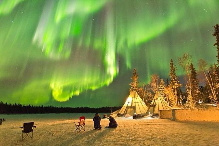 Красивые фотографии полярного сияния 0 10d62d 4dcf8d49 orig
