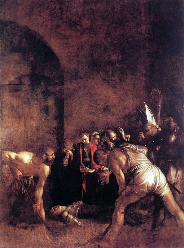 Погребение святой Лючии (Караваджо) - заалтарный образ в сиракузской церкви Санта-Лючия-фуори-ле-Мура.