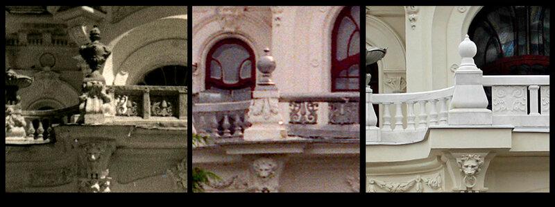Сравнение деталей до и после реставрации