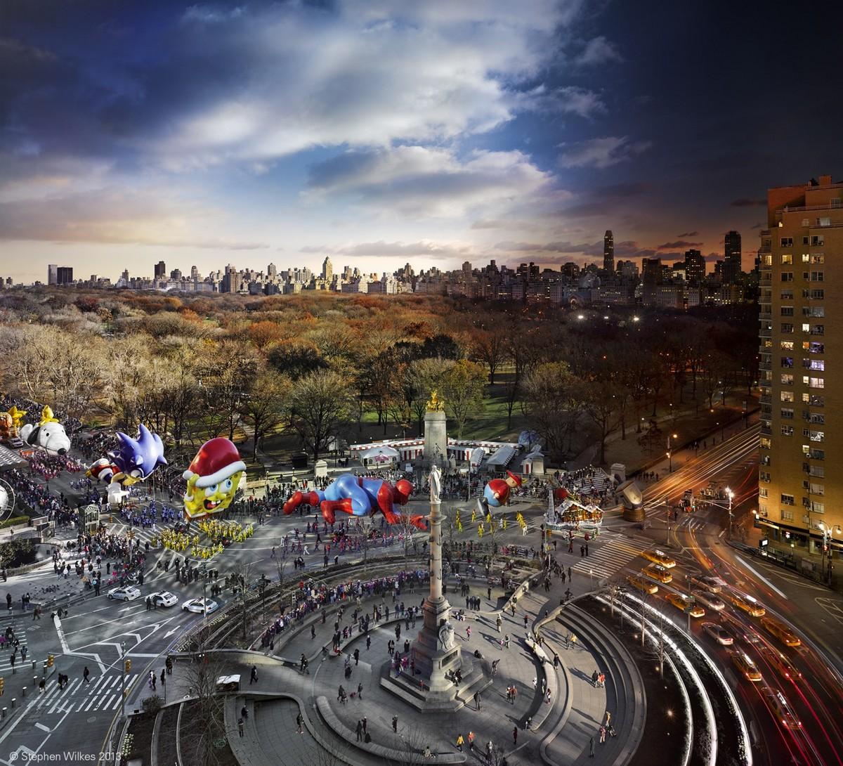 Удивительные панорамные снимки смены дня и ночи