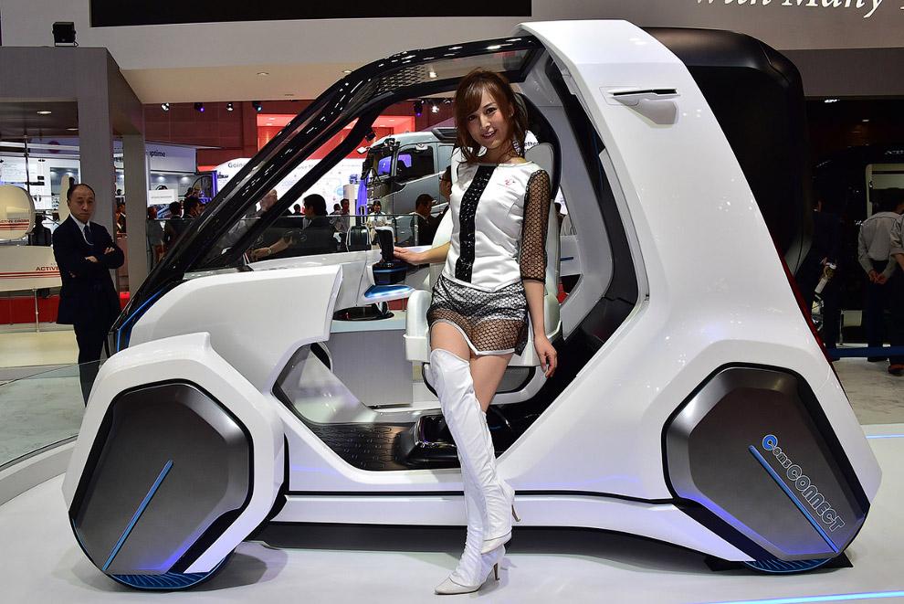 5. Ниссан представил свое представление о будущем — автомобиль IDS Concept . По задумке разработчико