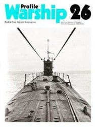 Книга Warships in Profile 26.Rubis Free French Submarine