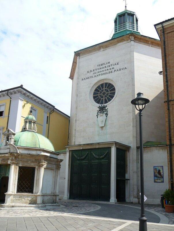Церковь Св. Антонио, XVI век.