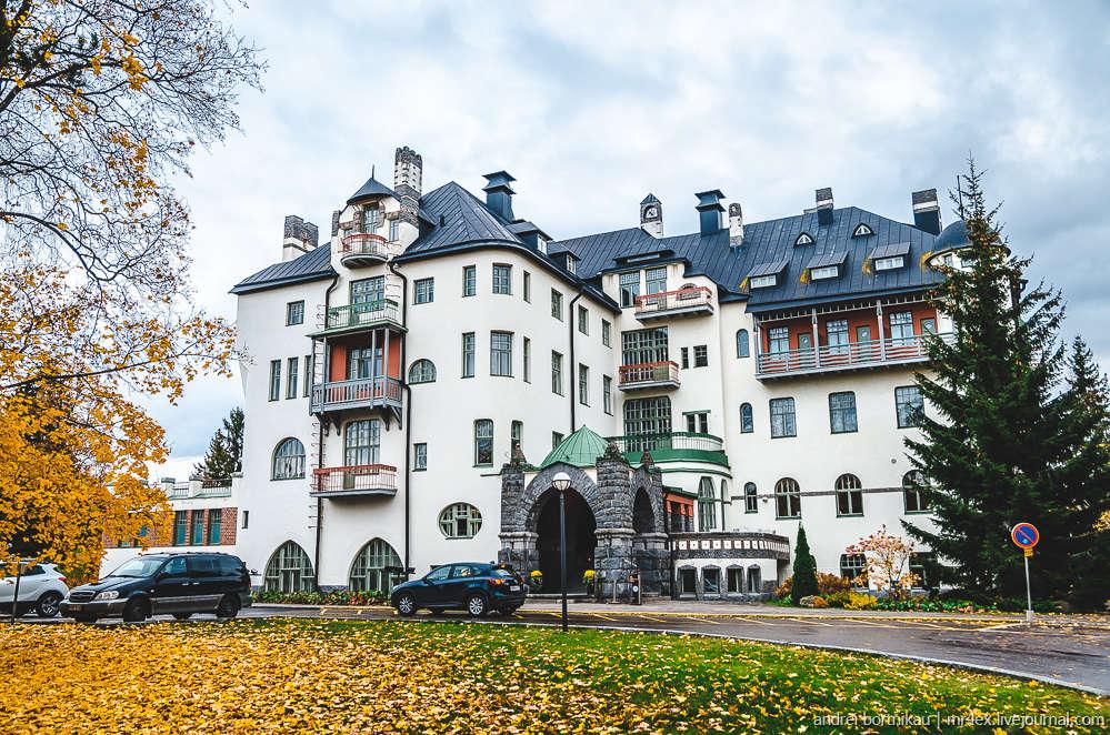 Иматра, Финляндия, Imatra State Hotel, замок в Иматре