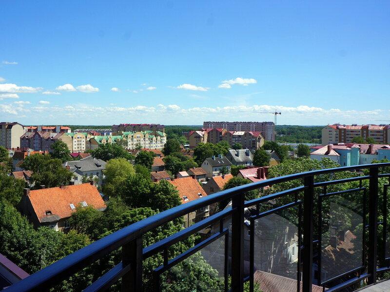 Вид на Зеленоградск