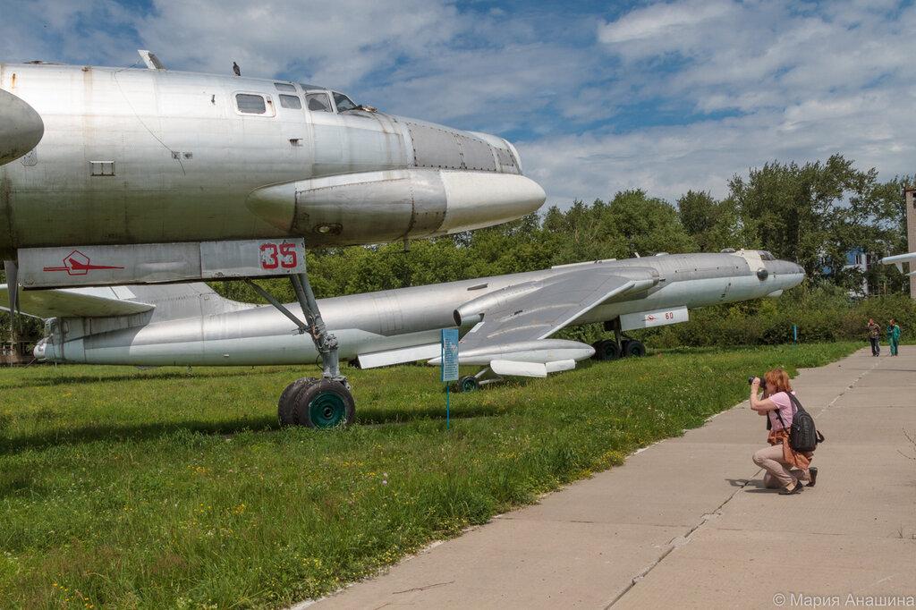 Фотографирую самолет