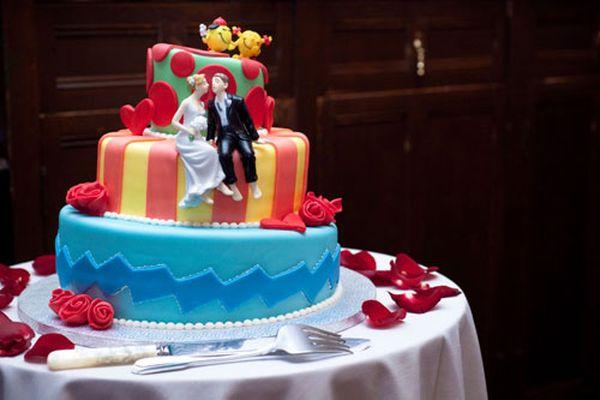 Украшения для свадебного торта