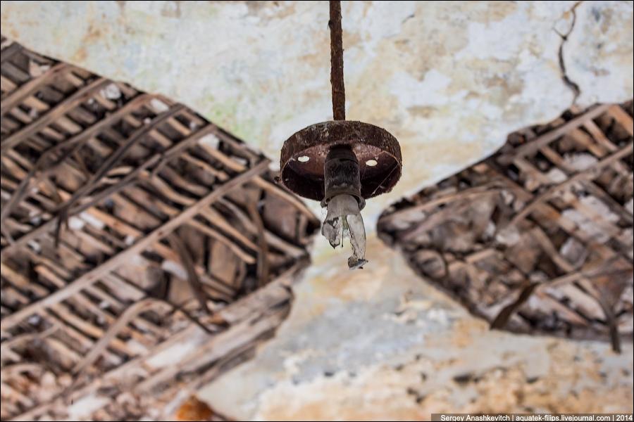 Заброшенный тубдиспансер в Кронштадте