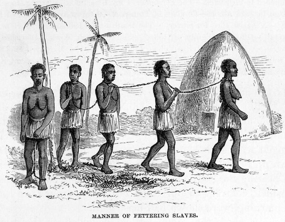 связанные рабы видео