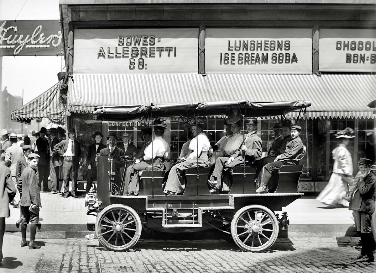 Специализированные транспортные средства начала 20-го века на снимках американских фотографов (3)