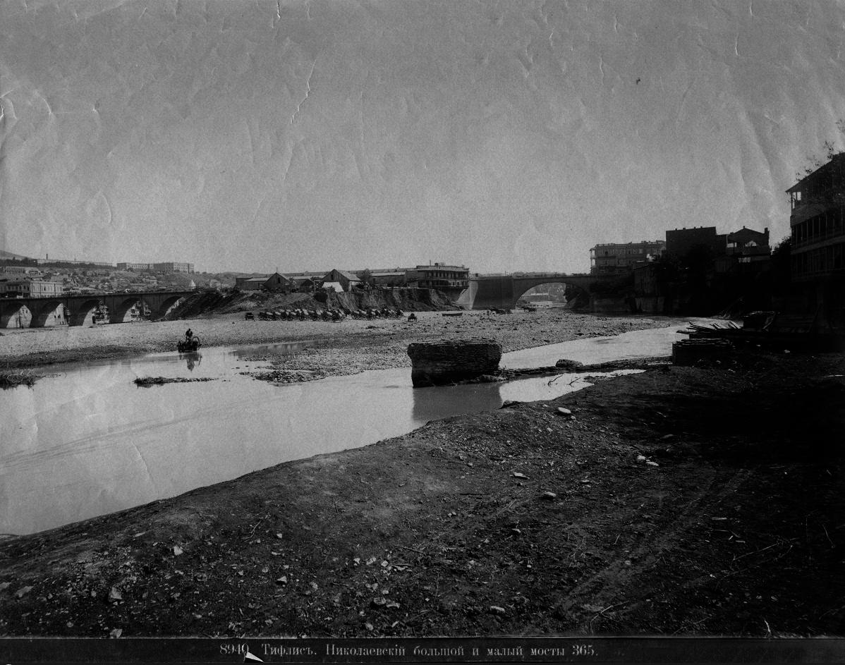 Николаевский большой и малый мосты