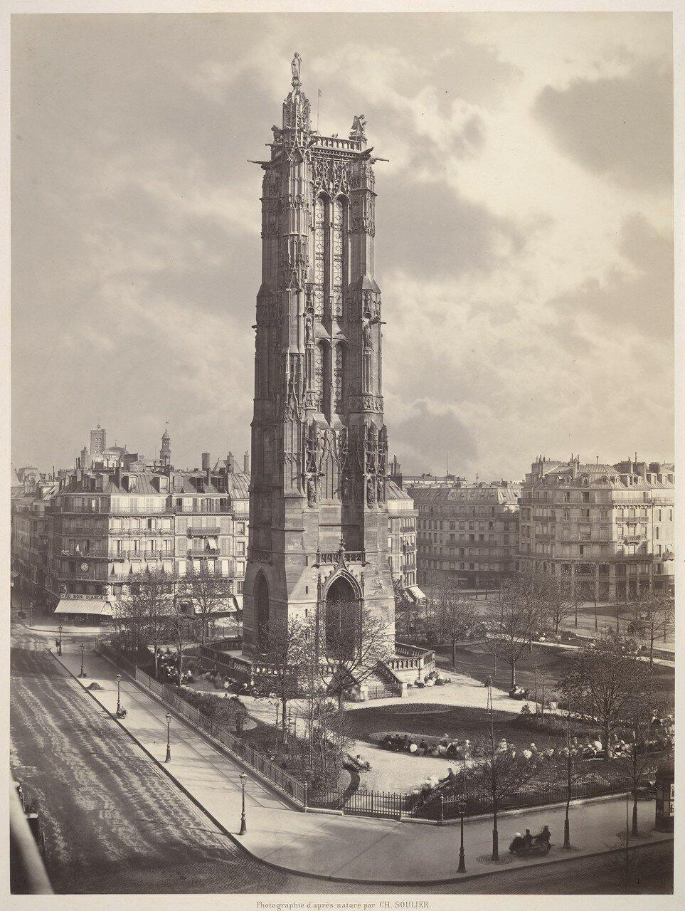 1867. Башня Сен Жак и Биржа