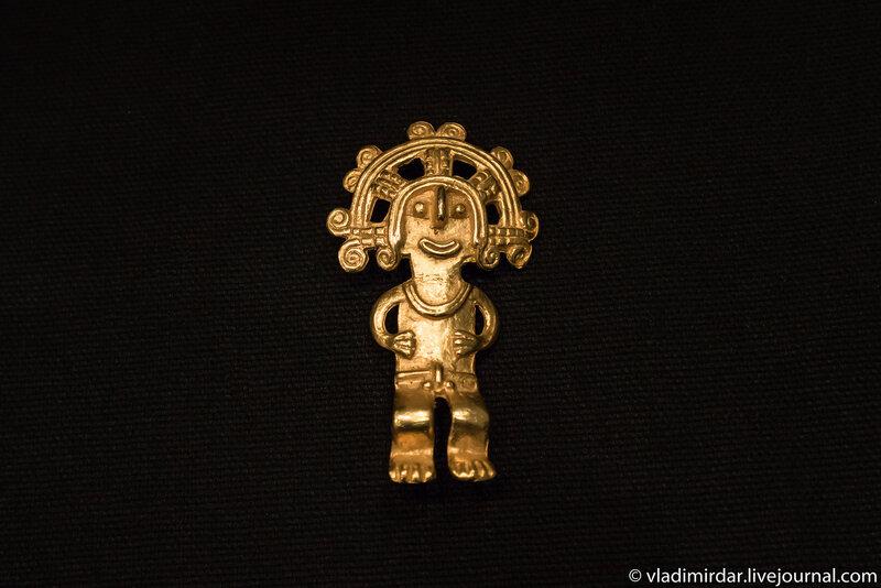 Стилизованные этнические фигурки доколумбовой эпохи