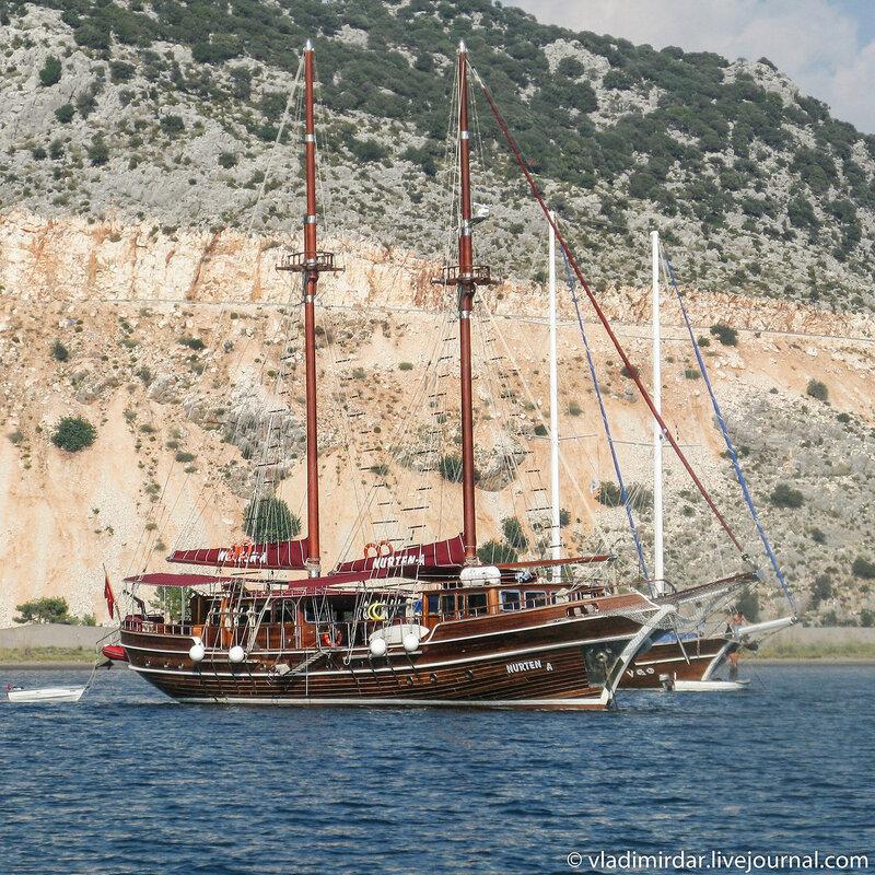 Яхта Nurten