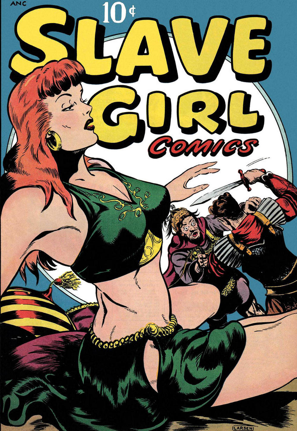 SLAVE GIRL COMICS #1, cover-dated Feb. 1949, published by Avon Periodicals.jpg