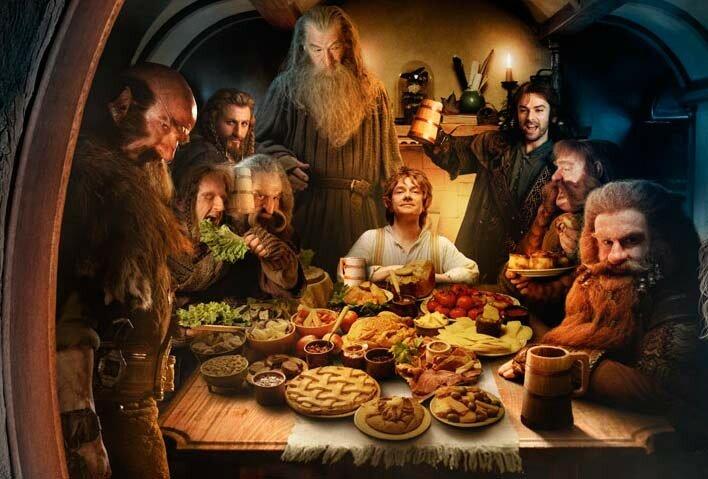 Топ 10 кулинарных рецептов от любимых литературных героев