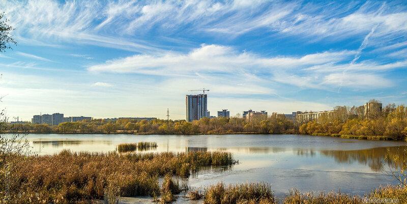Свияга, ЖК Пушкаревский, панорама