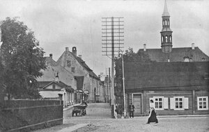 Начало улицы Рюютли от ул. Вестервалли