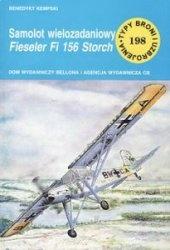Книга Samolot wielozadaniowy Fieseler Fi-156 Storch [Typy Broni i Uzbrojenia 198]