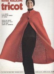 Журнал Votre Magazine Tricot № 142 1970