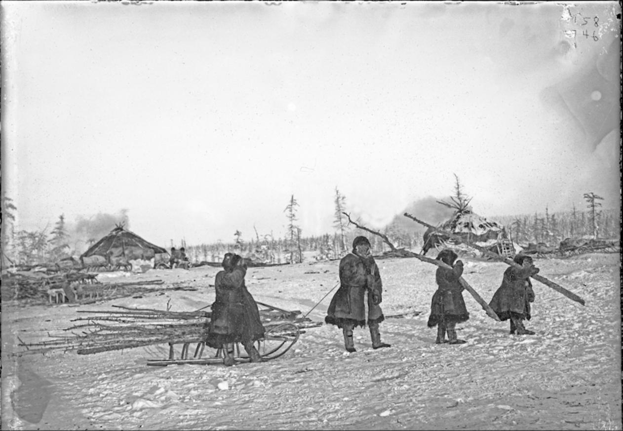 Тундровые юкагиры, 1902