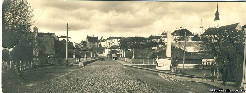 Вид Старого города с Ивангородской стороны