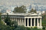 Храм Гефеста издалека