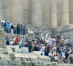 Толпы хотят на акрополь