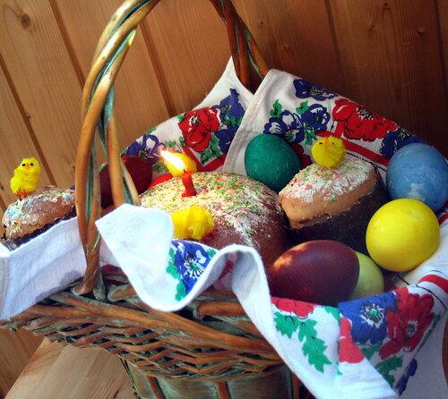 Подготовка к празднику Пасхи. Пасхальный стол