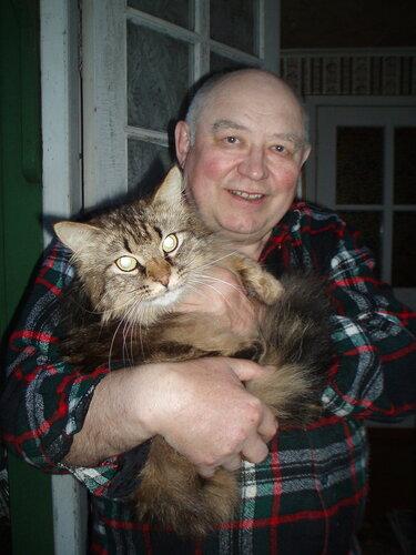 Константин — «Дед с котом» на Яндекс.Фотках