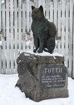 Памятник Тотти.