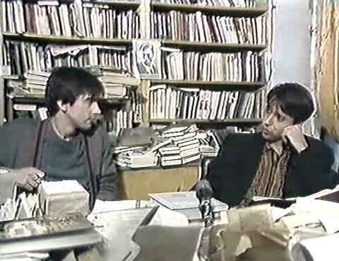Курехин и Шолохов: Ленин - гриб
