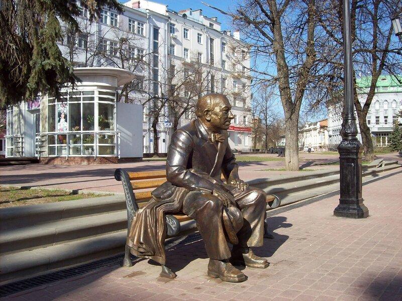 Евгений Евстигнеев (скульптура)