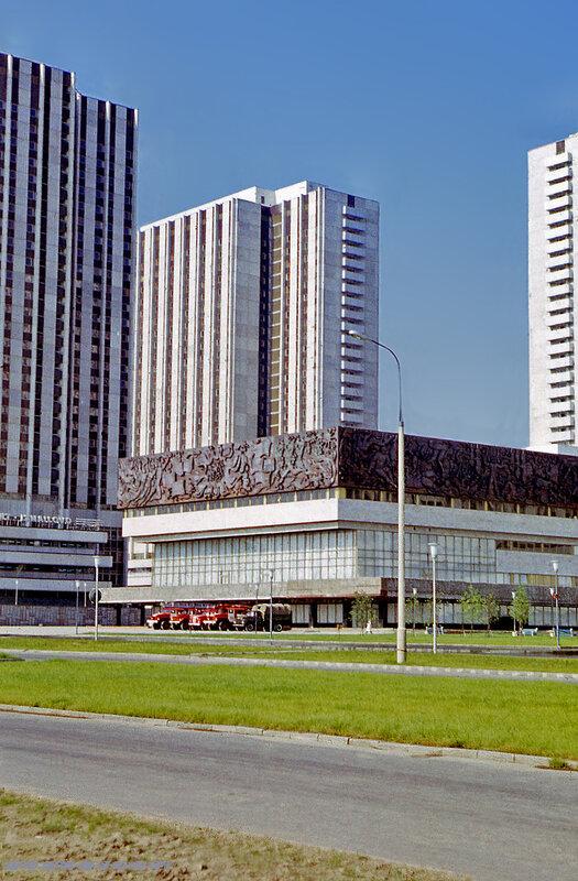 Корпуса Олимпийской гостиницы