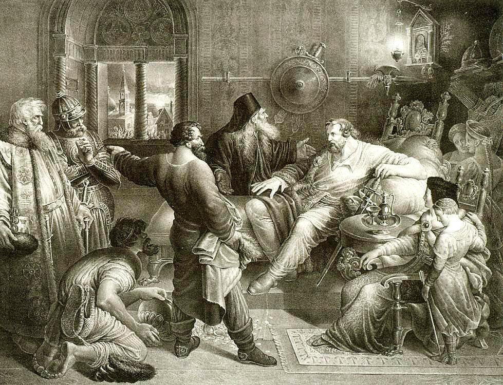 Рука Всевышнего Отечество спасла. 1833.jpg