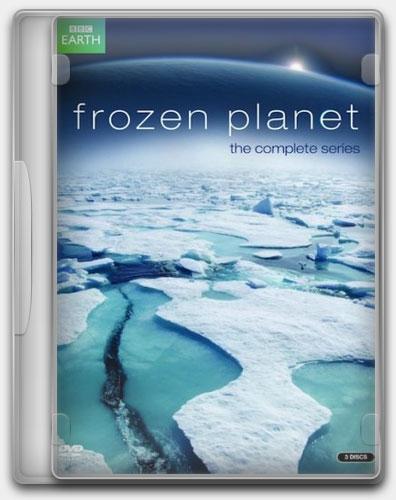 Застывшая планета / Замёрзшая планета / Frozen Planet (Аластер Фовергилл / Alastair Fothergill) [2011 г., документальный, HDRip] (3 серии из 7) AVO В.Курдов