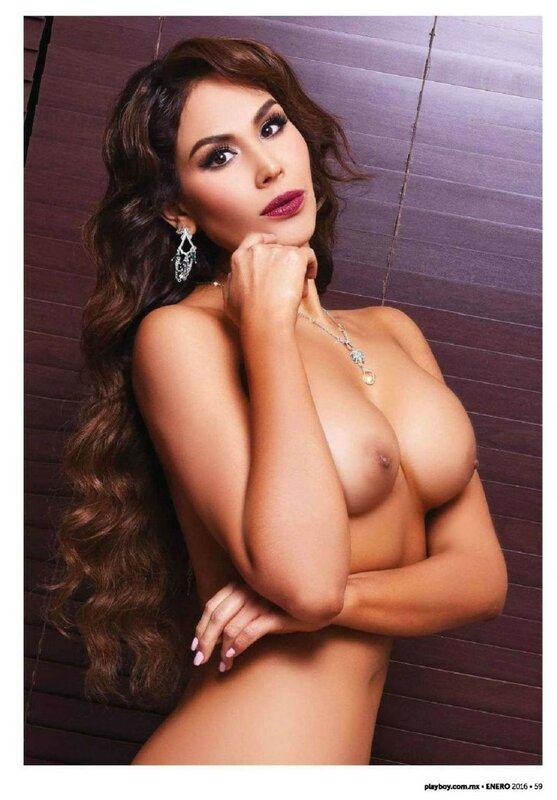 Tania Reza in Playboy Mexico january 2016