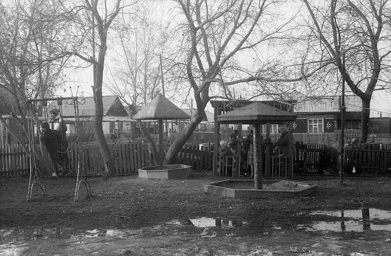 Детская площадка 1988 год.