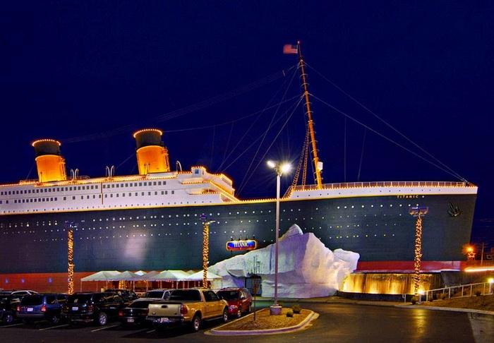 Почувствуй себе на Титанике
