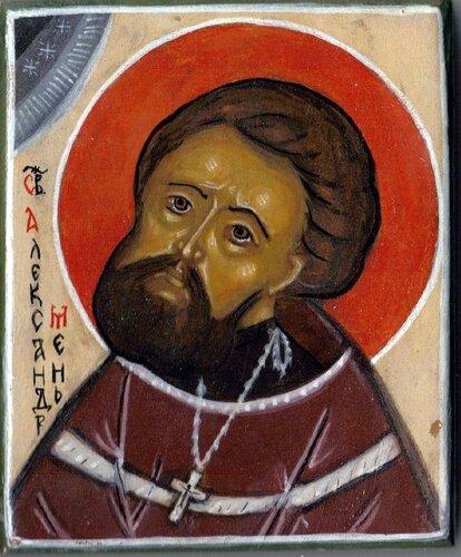 Протоиерей Александр Мень. Икона