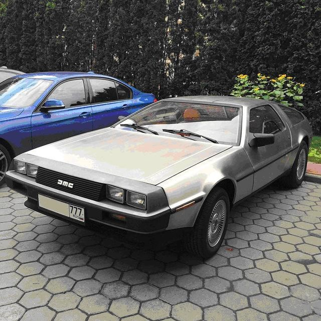 DeLorean DMC-12 в России