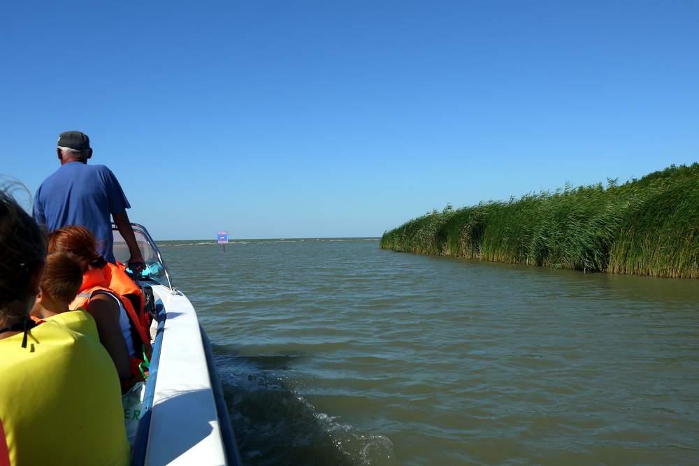 Темрюк, устье реки Кубань
