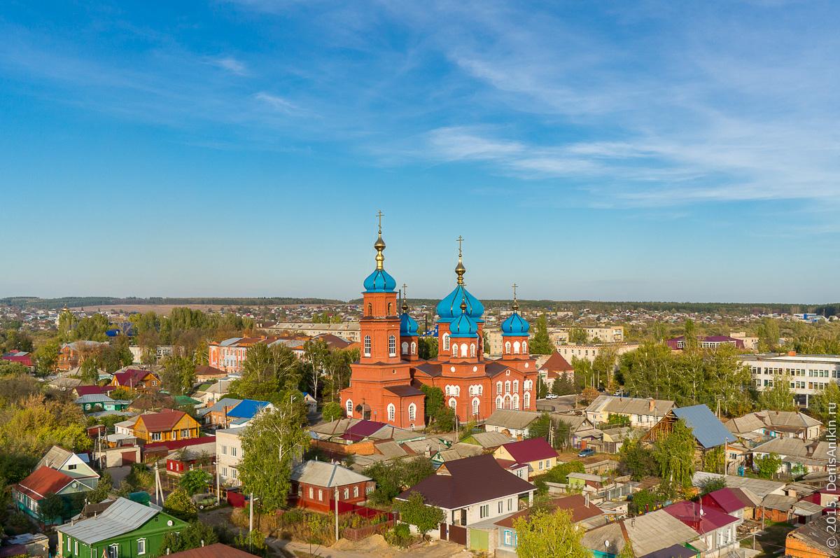 Собор Покрова Пресвятой Богородицы. Петровск 1