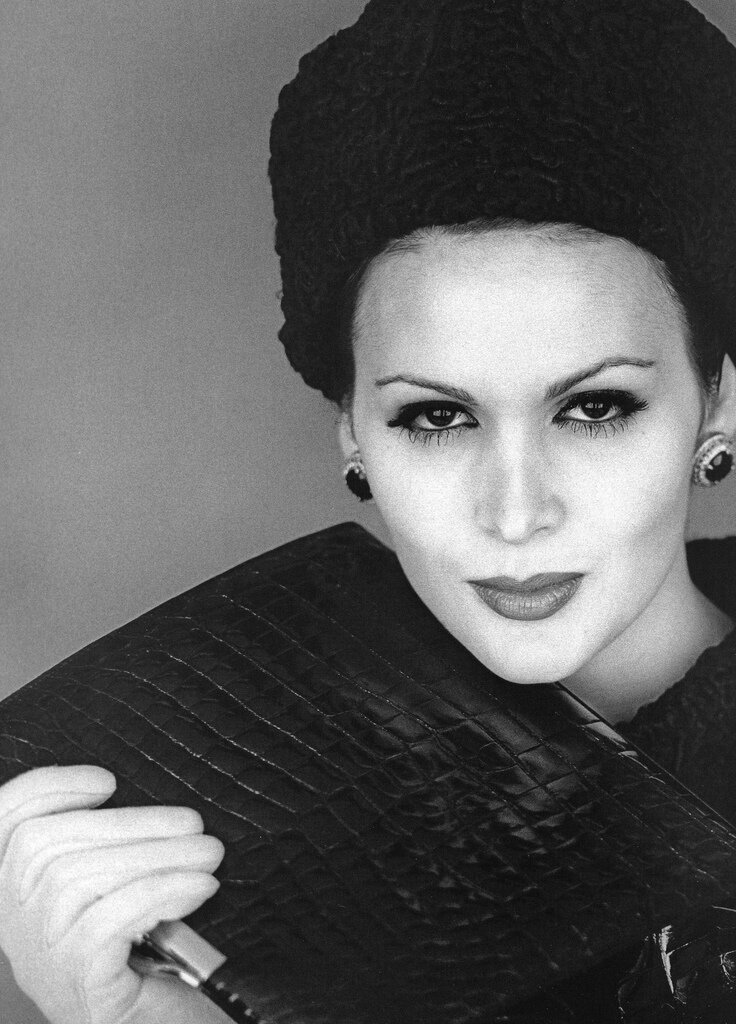Jerry Schatzberg.Isabella Albonico, New York 1959